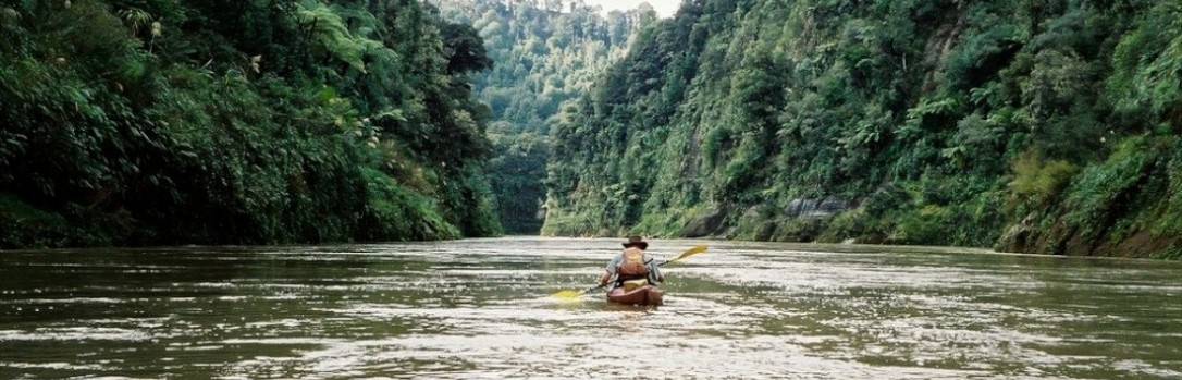 Martin on whanganui river, NZ
